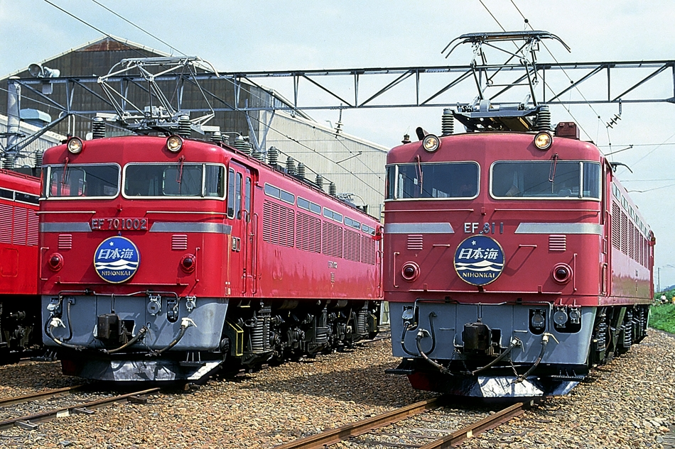 Kano鉄道局 EF81 1~20